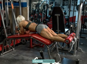 OMG, Becky, look at her LEGS!  Ripped hamstrings, glutes, and calves highlight the videos added today!