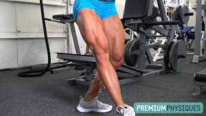 "More MASSIVE MUSCLE on the Brooke Walker ""Leg Day at the Dungeon"" Page. JOIN the PremiumPhysiques members section now!"