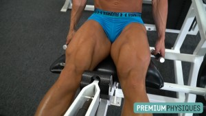The cuts in B-Dubs legs are simply awesome - gorgeous legs. Join PremiumPhysiques now for access to ALL of Brooke Walker's awesome videos!