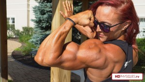STUNNING powerful muscle in 4K - the Katie Lee's Peak Power Studio at HDPhysiquesTV now features a nearly 15-minute long video in 4K resolution of Katie at her biggest!  Get this video to support Katie in her Clips Studio today!