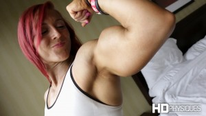 """In addition to her incredible clips here at PremiumPhysiques, check out the latest additions to the """"Katie Lee's Peak Power"""" Clips Studio at HDPhysiques.tv!"""
