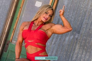 Sexy muscle posing - upper and lower body - Jamie looks impressive - Join NOW for the sexy videos!