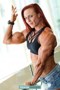 Holy shit!   Look at those triceps and biceps!  Join PremiumPhysiques now for tons of new Katie on the way!