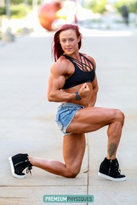 HUGE MUSCLE - get the new pics and vids today on the Katie Lee in Omaha - Contest Shape - page!