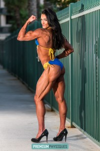 WOW!  Striated glutes and peaked muscular biceps.  What more can you ask for - Join PremiumPhysiques today!