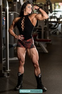 Join PremiumPhysiques now for the absolutely bone-crushing thighs of Natalia Coelho - tremendous female muscle power!