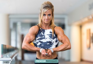 A new video of Alli's tremendous biceps has been added here at PremiumPhysiques - JOIN NOW!
