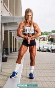 BIG ASS ARMS, and ripped quads - what more could you want? Join NOW for the latest Alli Schmohl!