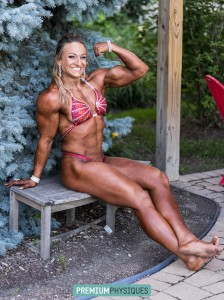 "She's a BIG muscular powerful girl!  Join PremiumPhysiques now for exclusive photos and videos of NEW bodybuilder, Paige ""Beefnuggette"" Sandgren!"