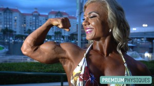 Up-close BICEPS video in contest shape - JOIN PremiumPhysiques now for the stunning Carli Terepka!