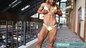 Carli has RIPPED abs - JOIN PremiumPhysiques now!