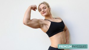 Look at that confidence!  PremiumPhysiques superstar Danielle Mastromatteo loves flexing - JOIN TODAY!