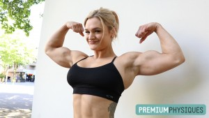 Join PremiumPhysiques for much more Danielle Mastromatteo on the way, in addition to today's sexy biceps update!