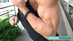 Hanna Hallman is POWERFUL and RIPPED - Join PremiumPhysiques now for awesome vids and pics!