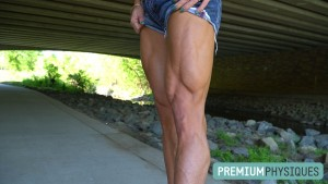 JOIN PremiumPhysiques now for some of the hottest female muscle vids around - like the new Hanna Hallman!