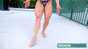 JOIN PremiumPhysiques for the stunningly hot legs of powerful physique competitor, Sara Butler